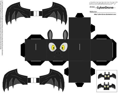 Design Papercraft - cubee bat by cyberdrone deviantart on deviantart