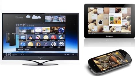 Lazypod Jepit For Smartphone 55 Inch lenovo puts android 4 on 55 inch tv and 10 inch tablet ars technica