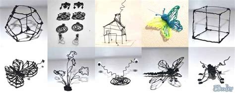 3d printing pen turns doodles into sculptures doodle dandy pen turns drawings into 3d artwork hlntv