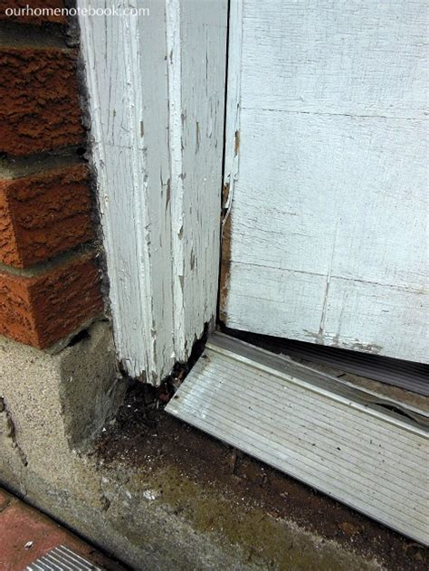 installing a door frame exterior a new back door our home notebook