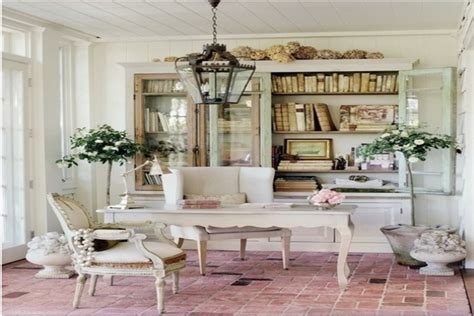 shabby chic office ideas cozy home office shabby chic