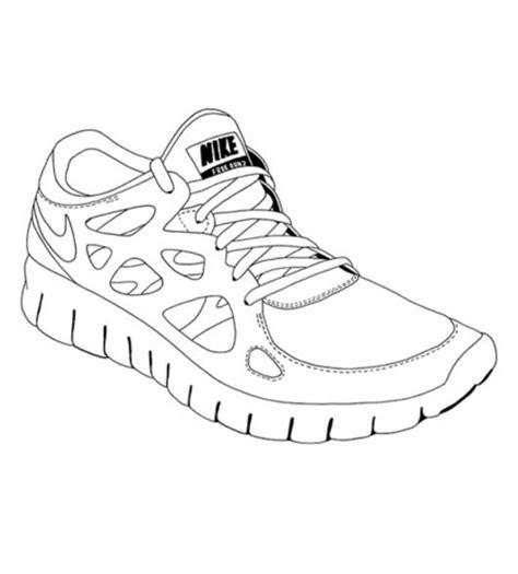 imagenes de unas zapatillas para dibujar imagenes de zapatos nike para dibujar imagui