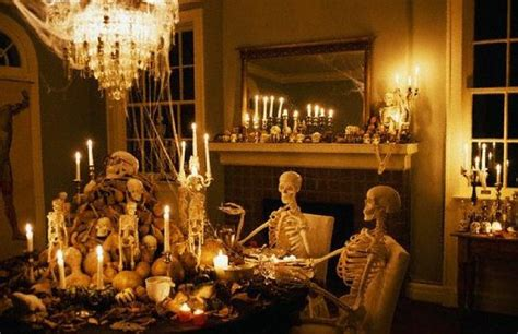 spooky home decor house decoration ideas 2017 for halloween party lighting