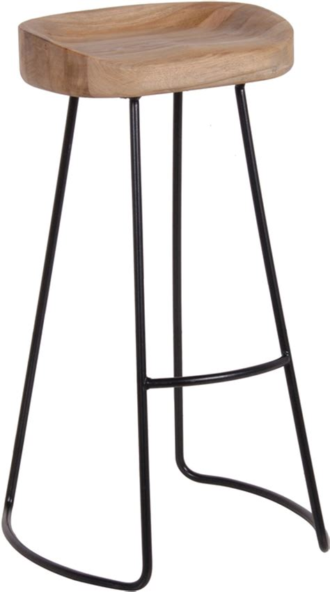 Bar Stool Iron by Stool In Oak And Iron Bar Stools