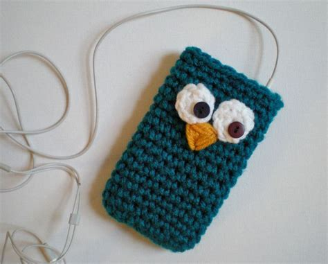 crochet pattern phone bag pattern 5 in 1 cozy ipod sleeve case cell phone easy