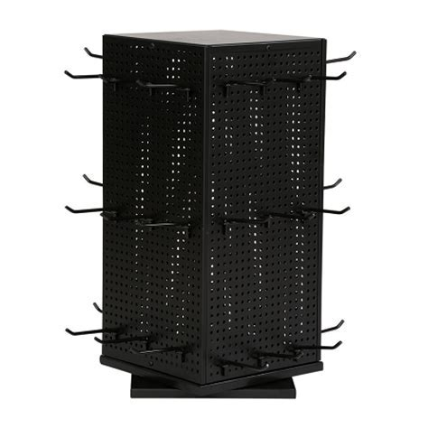 Metal Pegboard Spinner   Countertop Display   POP Display