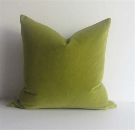 apple green decorative pillows apple green velvet pillow decorative pillow cover 20