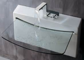 Modern Glass Bathroom Sinks Glass Bathroom Sinks Modern Home Design And Decor