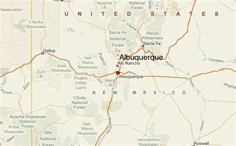 albuquerque map albuquerque location guide