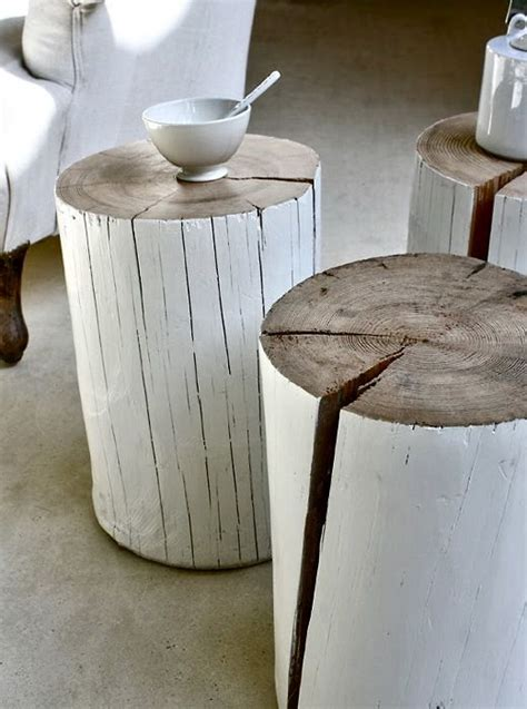 white wood stool side table white wood stools apartment stump table