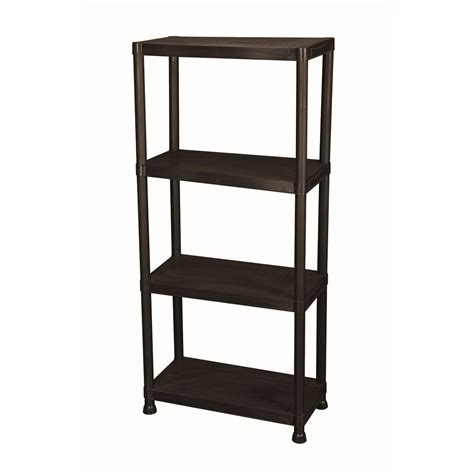 On Shelf by 4 Tier Shelf Rack