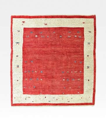 tappeto iraniano tappeto iraniano gabbeh rosso e bianco cod 0018