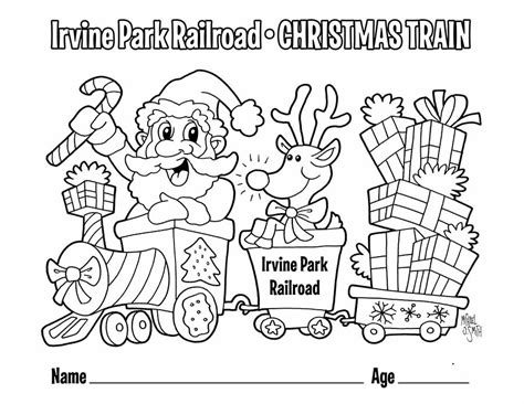 Christmas Train Coloring Pages Dikma Info Dikma Info Childrens Colouring In L