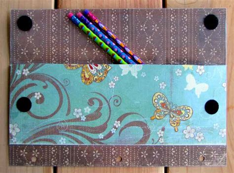 How To Decorate A Pencil Pouch by Pencil Tutorial