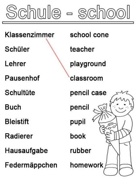 englisch lernen schule zum ausmalen englisch lernen