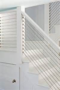 custom built cable stair railing home inspiration pinterest