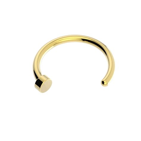 gold nose ring vault 101 limited free uk delivery