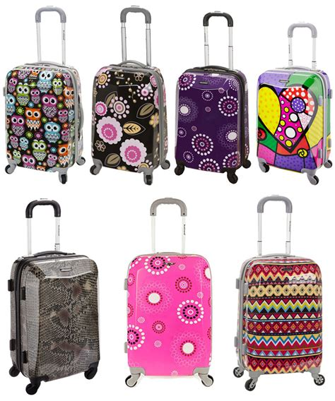 colorful luggage colorful carry on luggage mc luggage