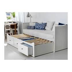 hemnes structure divan avec 3 tiroirs blanc pi 232 ces