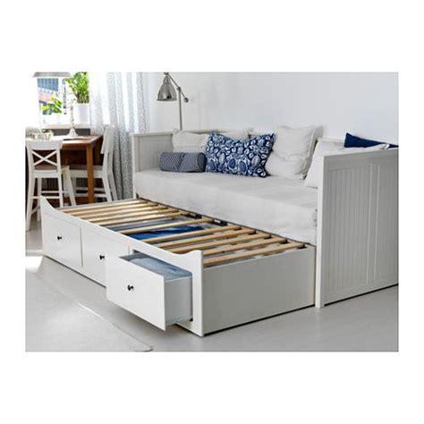 Hemnes Lit Ikea by Hemnes Structure Divan Avec 3 Tiroirs Blanc Pi 232 Ces
