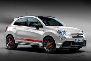 Abarth And Fiat Fiat 500x Abarth And Exclusive Image Pictures