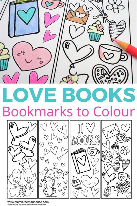 printable bookmarks love 17 best images about free printables on pinterest