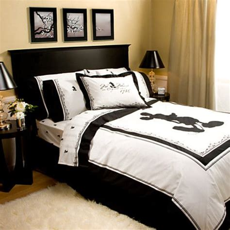 disney bedding for adults vintage black and white mickey mouse duvet cover bed