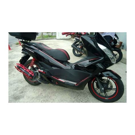 Sticker Honda Pcx by Set Stickers Black Edition Honda Pcx 125 150 V2