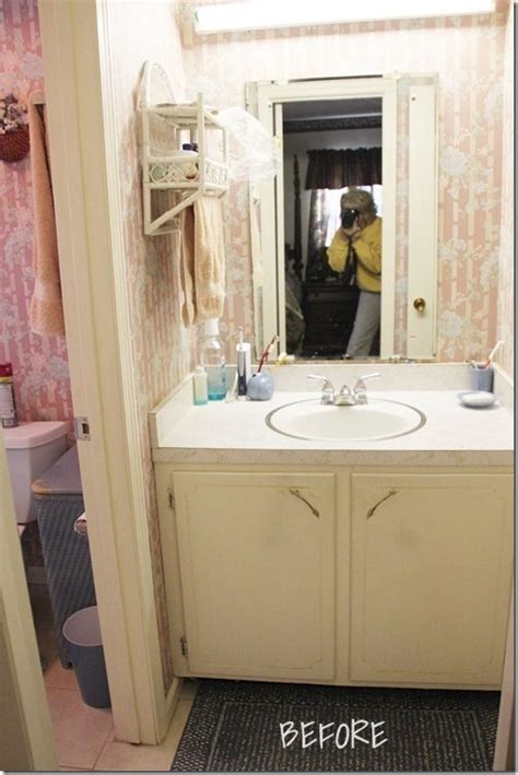 an updated 1970s bathroom southern hospitality