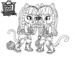 baby monster coloring pages baby purrsephone meowlody jadedragonne deviantart