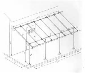 awning frame project simplified building