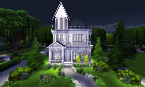How To Build A Victorian House | the sims 4 build tutorial victorian house with interior