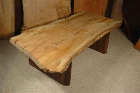 How To Build A Rustic Dining Room Table Custom Wood Slab Coffee Tables Dumond S Custom Furniture