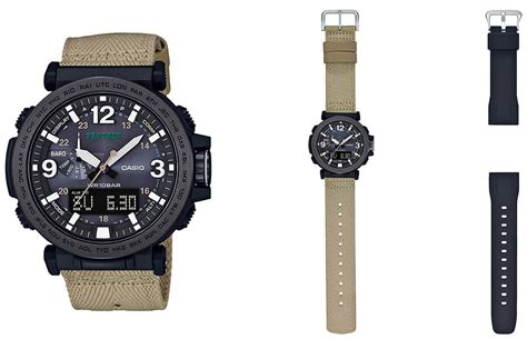 Casio G Shock Prg 270 casio pro trek prg 600ybe 5 with cloth and silicone bands