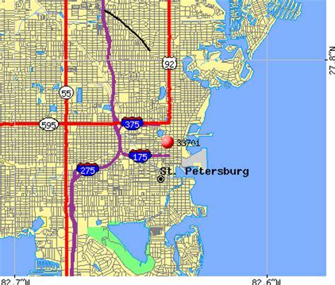 zip code map st petersburg fl 33701 zip code st petersburg florida profile homes