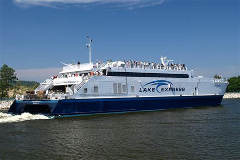 muskegon catamaran ferry lake express ferry flickr photo sharing