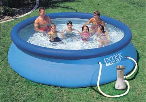 piscine da giardino intex piscina rotonda intex 28132 easy set piscina fuori terra