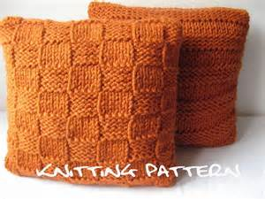 Cushion Cover Knitting Patterns Knitting Pattern Chunky Cushion Covers