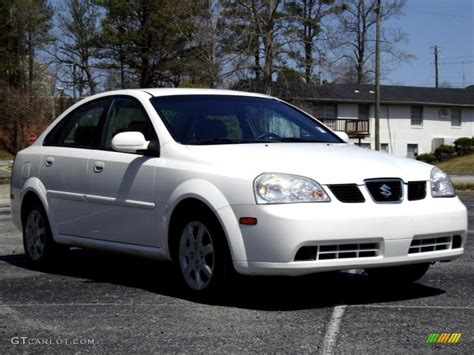 2005 absolute white suzuki forenza s sedan 27805018