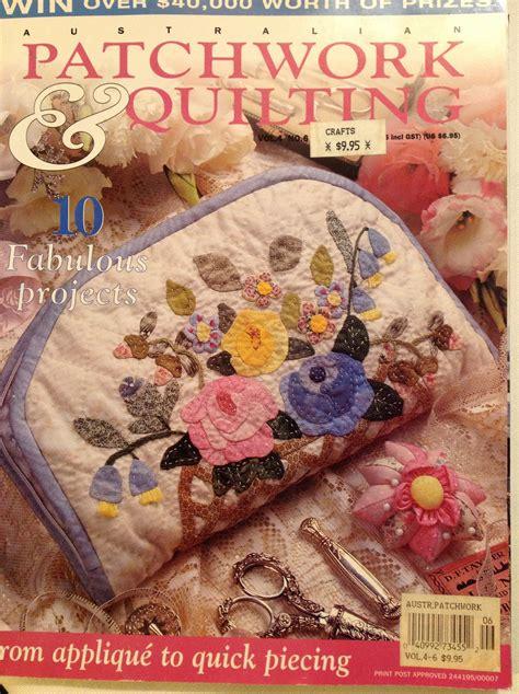 Patchwork Quilting Magazine Australia - australian patchwork quilting mag sewing room secrets
