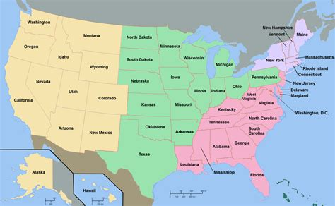 map usa regions regional contact map pmc insurance