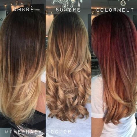 what is difference between some ombre color melting balayage ombre difference between ombr 233 sombr 233 color melting in