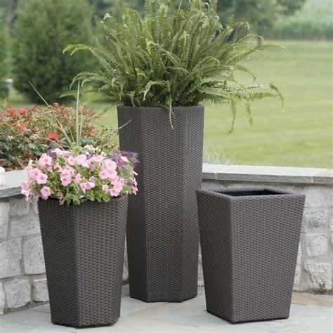 vasi in ceramica da esterno vasi resina esterno vasi per piante materiale vaso esterni