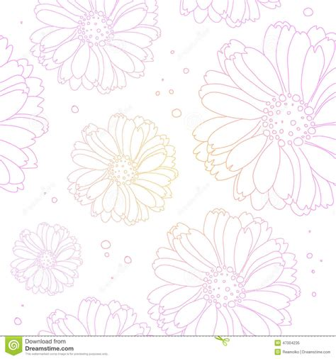 background pattern light color seamless light flower background floral pattern stock