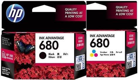 Cartridge Hp 680 Black Original Ink Advantage Cartridge Berkualitas hp 680 black color original ink a end 12 14 2015 3 15 pm