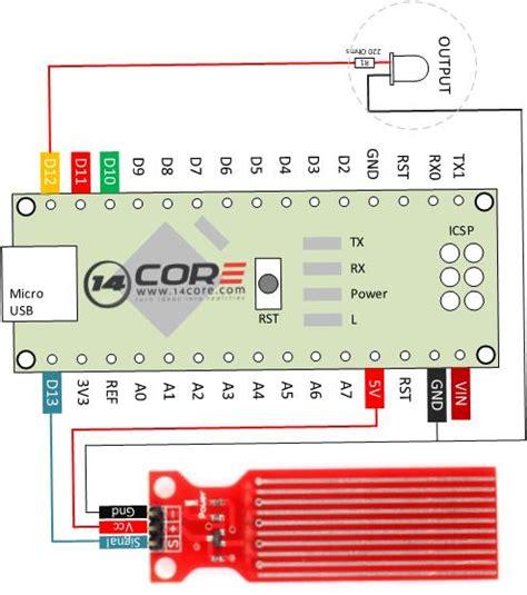arduino nano sensor light wiring diagram wiring diagrams