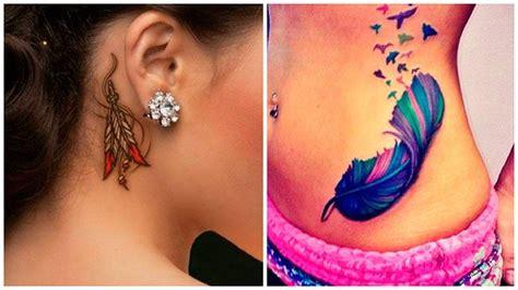 tatuajes de plumas significado y dise 241 os que vas a querer