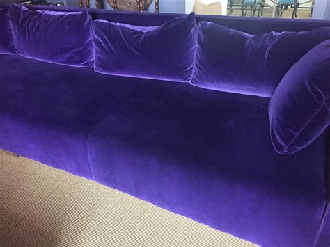 canape violet modern canape purple velvet for sale at 1stdibs
