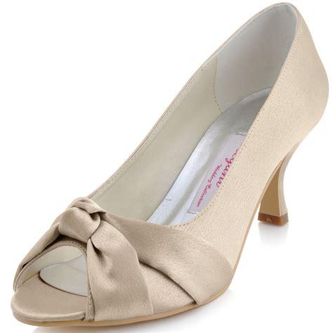 Sandal Fashion 014 fashion pumps mm 014 chagne white peep toe knot