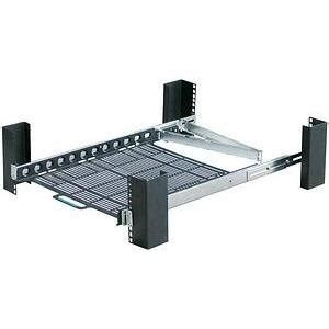 innovation sliding rack mount shelf desktop